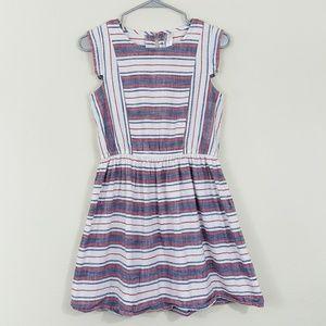 Cherokee Girls Patriotic Stripe Dress XL